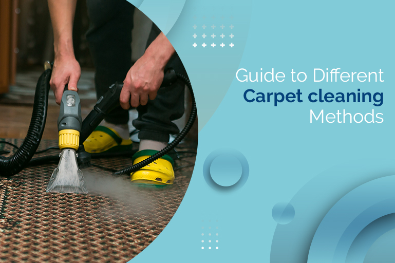Guide to Different Carpet cleaning Methods