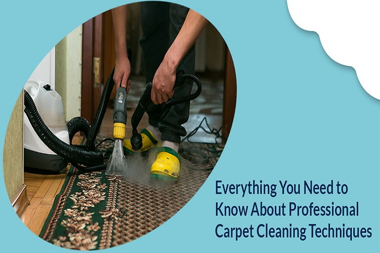 Everything You Need to Know About Professional Carpet Cleaning Techniques